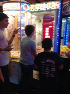 arcade games - birthday party