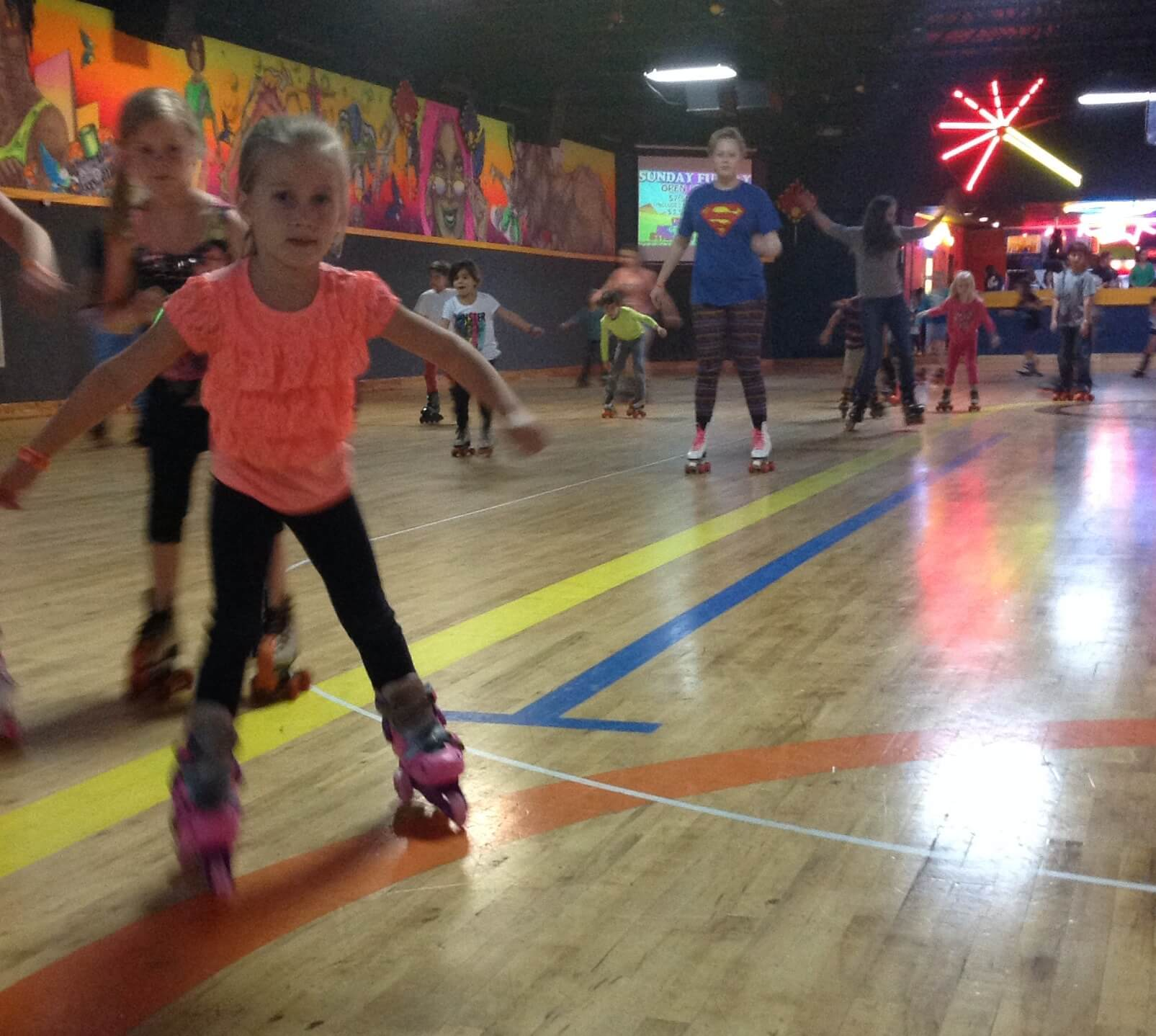 Roller skating rink music - Rollerskating