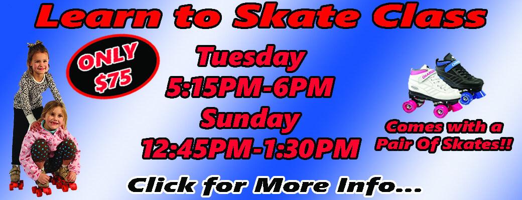 Skate Class Banner