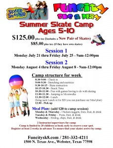 houston skate camp