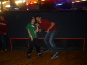 roller-skating fitness