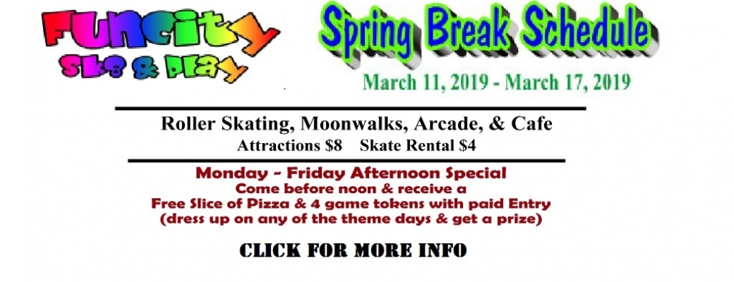 Spring Break 2019 Banner