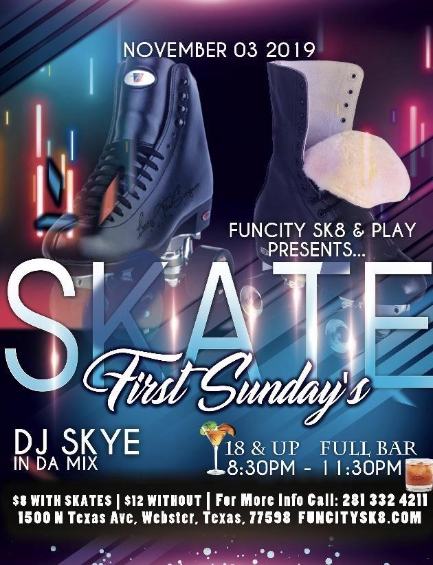 Sunday Skate flyer