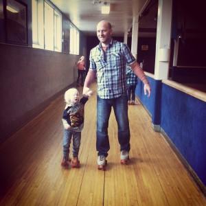 toddler skate lesson