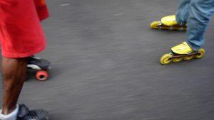 quad skates and inline skates